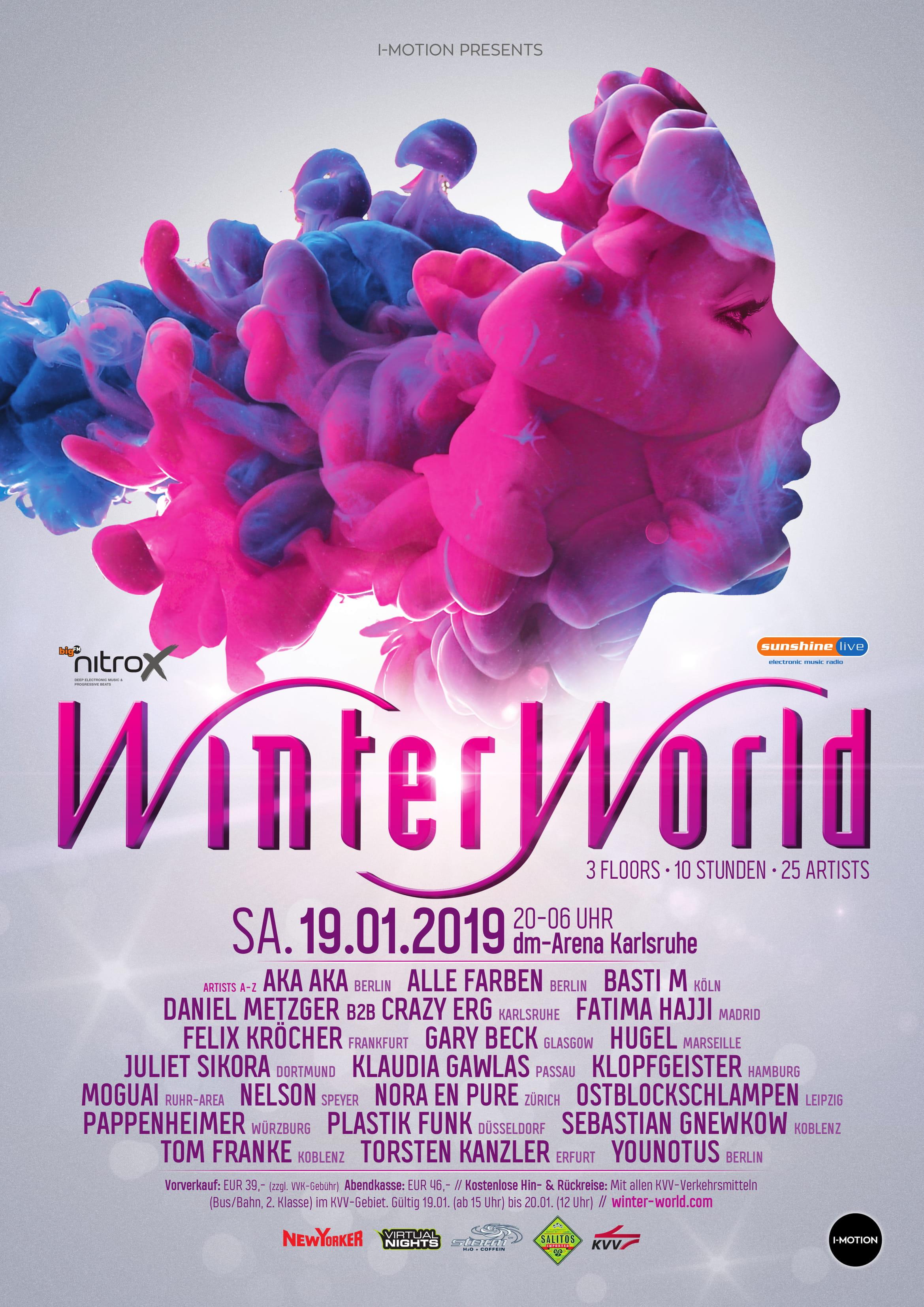 WinterWorld 2019 Plakat